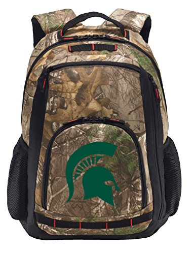 Broad Bay Cotton Michigan State University Camo Backpack ...