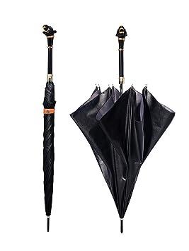 ZGB Pantera paraguas automática de largo mango masculina caballero creativo originales de gama alta de negocios