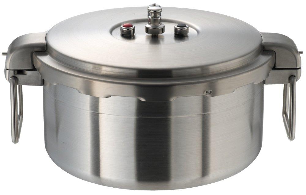 ワンダーシェフ プロビッグ 業務用圧力鍋 浅型 16L NPDA16 610201   B00VDMA19Y