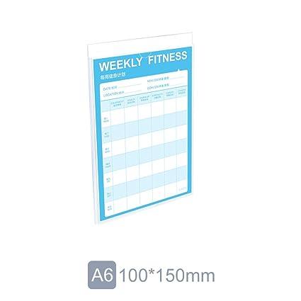 A4/A5/A6 Soporte de pared para carteles, marco de fotos de ...