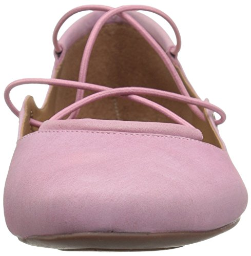 French FS Pink Women's Flat Nubuck NY Sole Ballet Voodoo 1qx5H0r1W4
