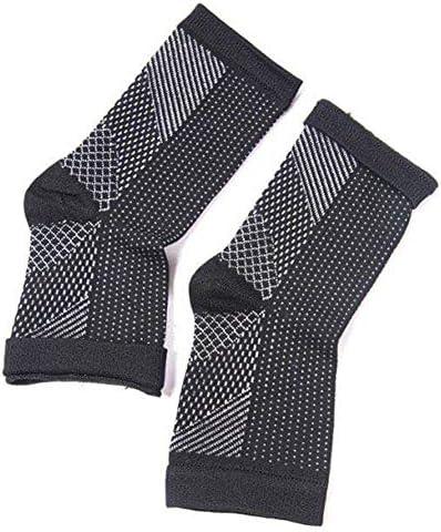 Dr. Sock Soothers Socken Anti Fatigue Compression Fußhülsenstütze Brace Socke für Plantarfasziitis Achilles Knöchel Anti Fatigue 3 Stk (S-M)