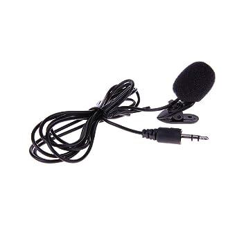 Universal Portátil 3.5mm Mini Micrófono de Auricular Micrófono de ...