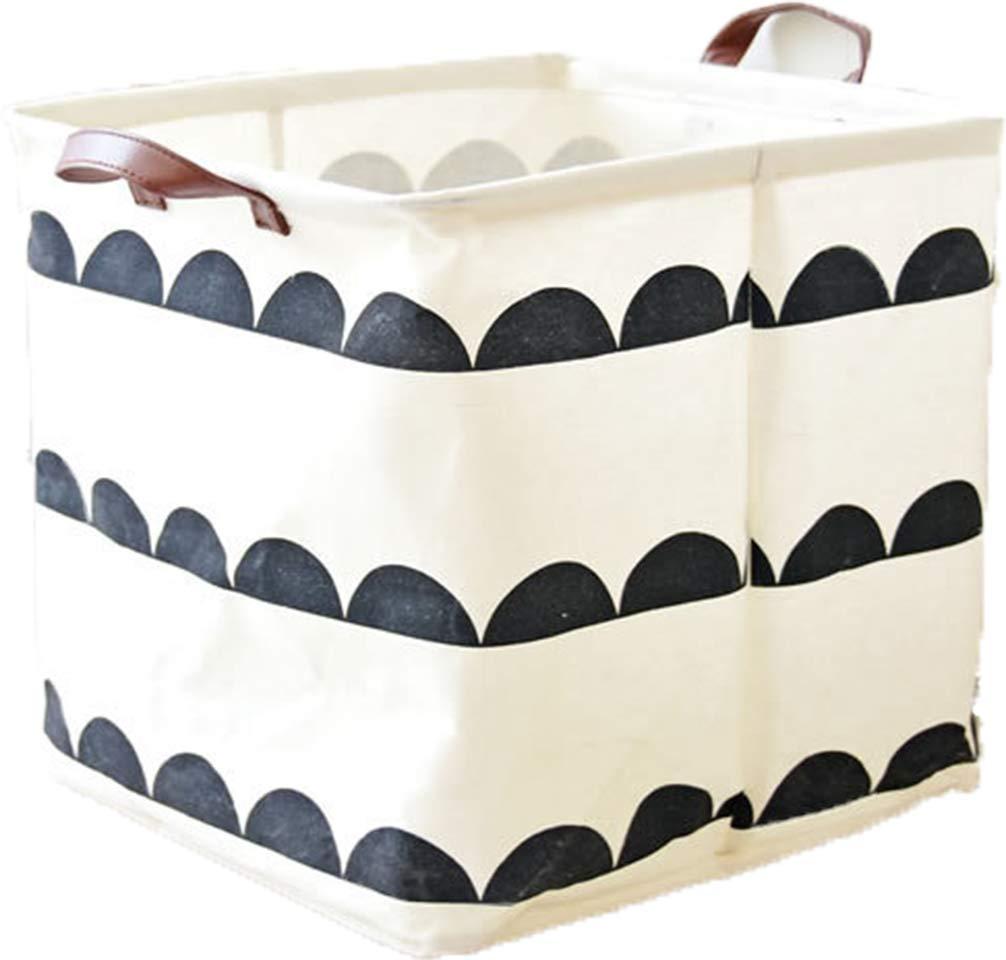 Square Collapsible Canvas Storage Box Foldable Kids Toys: Amazon.com : LNHOMY Square Fabric Toy Storage Bins Basket