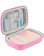 Khanka EVA Difficile Caso Viaggiare trasportare sacchetto per HP Sprocket New Edition Noir Stampante Istantanea Fotografica Portatile (Rosa)