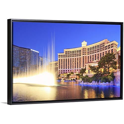 CANVAS ON DEMAND United States, Nevada, Las Vegas, Bellagio Hotel with It