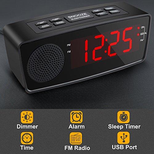 Buy digital clock radio