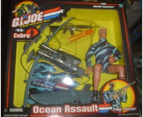 Used, G.I. Joe vs. Cobra Ocean Assault with Wet Suit by G. for sale  Delivered anywhere in USA