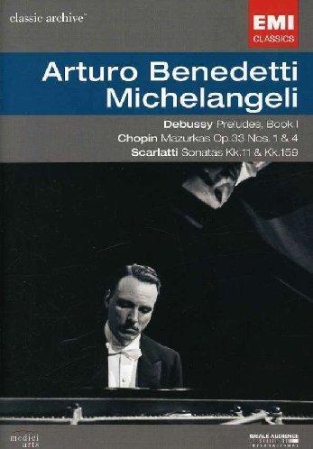 Debussy: Preludes, Book 1; Chopin: Mazurkas, Op. 33 Nos. 1 & 4; Scarlatti: Sonatas Kk. 11 & Kk. 159 [DVD Video]