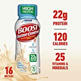 Boost Glucose Control High Protein Nutritional Drink, Very Vanilla, 8 Ounce Bottle (Pack of 16) (Packaging May Vary)