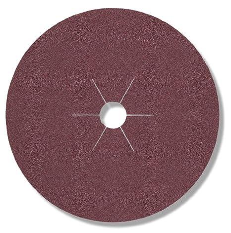 100 Grano 100 mm x 16 mm CS 561 Klingspor 65739 Discos de Fibra Vulcanizados 10 Forma de Perforaci/ón