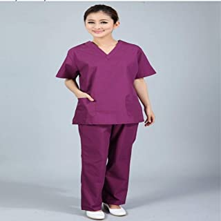 QZHE Abbigliamento medico Abbigliamento Medico del Vestito Chirurgico del Vestito Chirurgico di Servizio Medico del Vestito Dell'Uniforme Dell'Uniforme