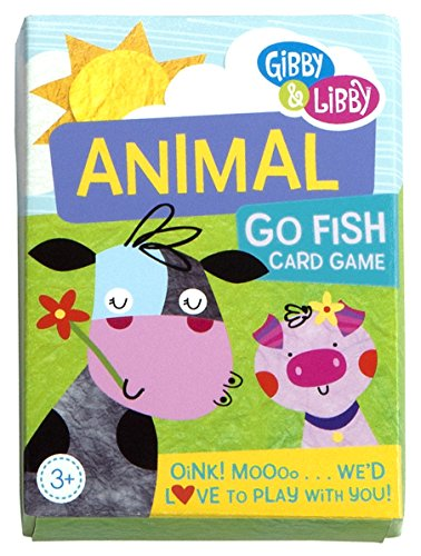C r gibson animal go fish card game import it all for Fish card game
