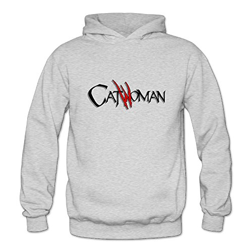 BOOMY Catwoman Letter Women's Hooded Sweatshirt SizeM (Michelle Pfeiffer Catwoman Costume)