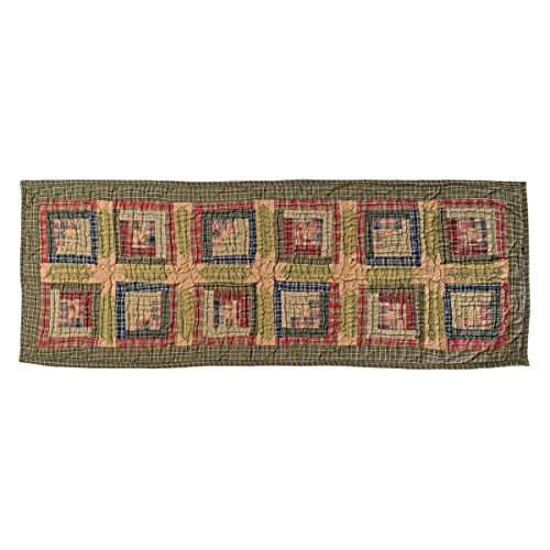 quilted bed runner - 3