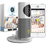 Video Baby Monitor Camera Compatible With iPhone & Android. Wifi Enabled Nanny Cam, 2 Way Talkback With Motion activated Cell Alerts. Ash Gray