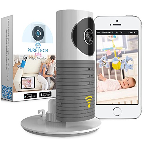 Video Baby Monitor Camera Compatible With iPhone & Androi...