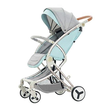 Baby Stroller Carrito de bebé El Amortiguador portátil Plegable ...