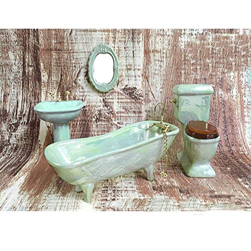 BESTLEE Dollhouse Furniture Miniature Bathroom Accessories, used for sale  Delivered anywhere in USA