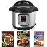 Kitchen & Housewares : Instant Pot IP-DUO60 7-in-1 Programmable 6-Quart/1,000-Watt Pressure Cooker and Book Collection Bundle