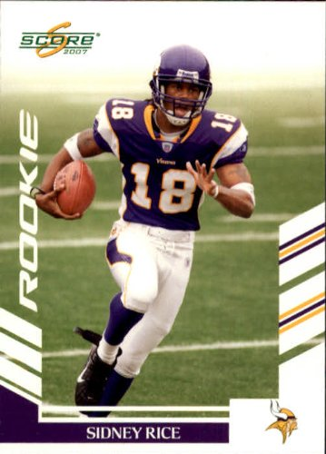 sidney rice score rookie card - 1