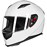Motorcycle Helmet Whites Review and Comparison