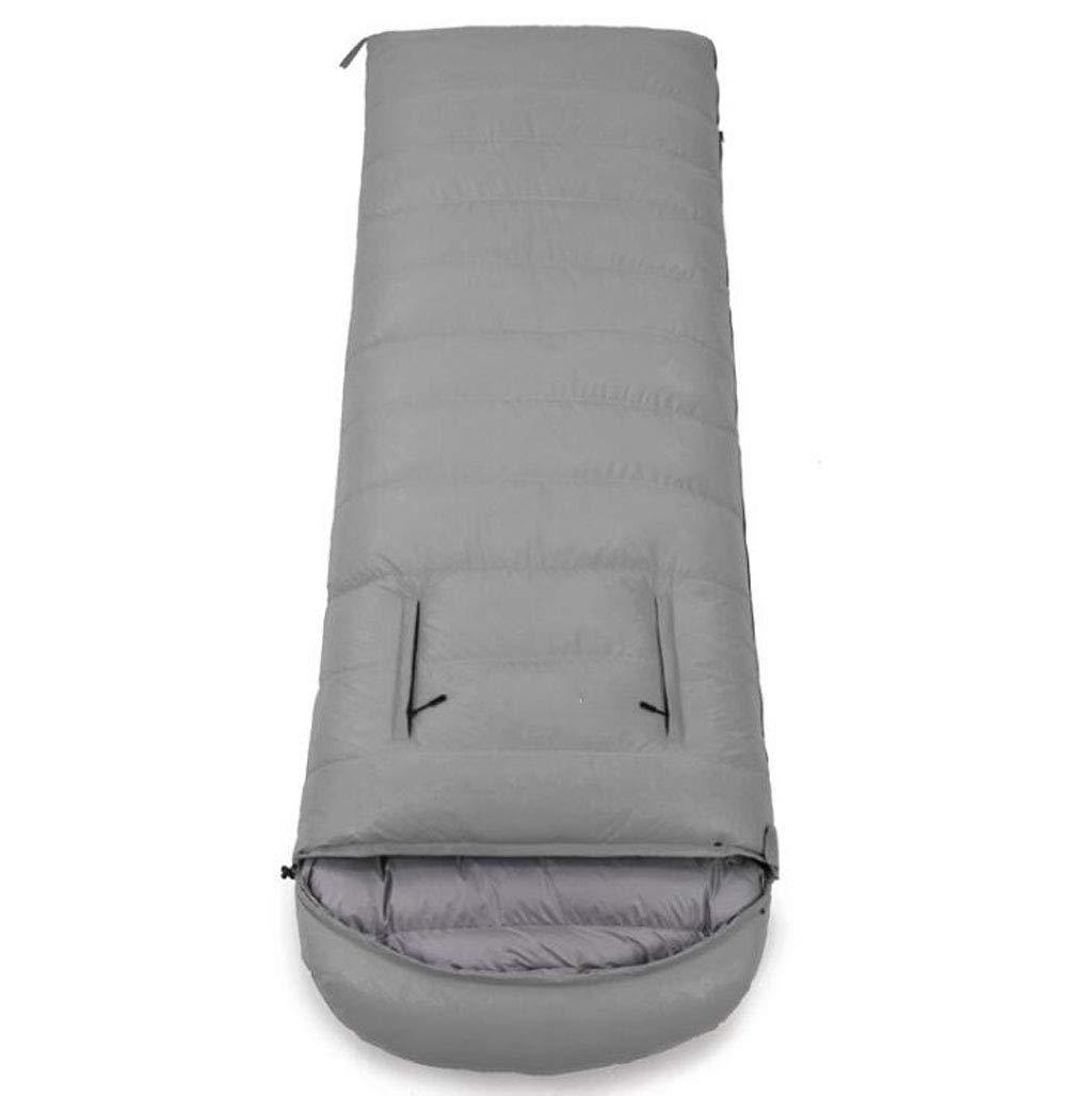 アウトドアキャンプ寝袋4シーズンポータブル圧縮寝袋用ハイキングバックパッククライミング多色オプション (色 : 紫の, サイズ さいず : 0.8kg) B07QLS8R46 Gray 2.1kg 2.1kg|Gray