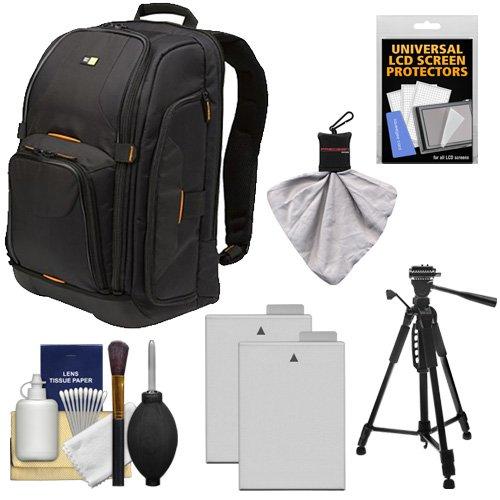 Case Logic Digital SLR Camera Backpack Case   +  LP-E8 Batte