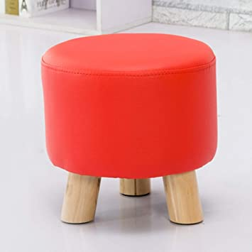 Pleasant Amazon Com Gz Round Short Padded Ottoman Footrest Shoe Pdpeps Interior Chair Design Pdpepsorg
