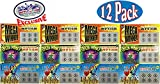 Fake Lottery (Lotto) Tickets Assorted Party Bundle - 12 Pack