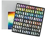 Jack Richeson Hand Rolled Soft Pastels Color Wheel, 120 Piece Set