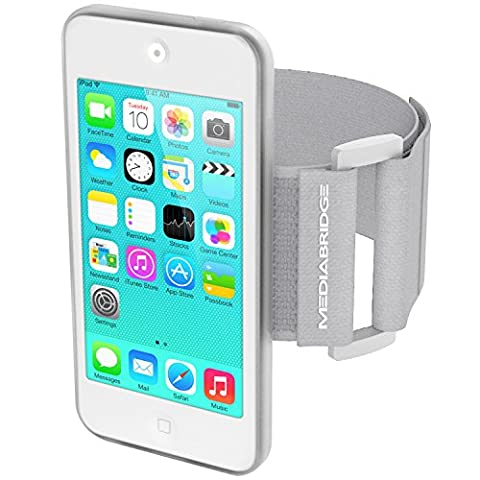 Mediabridge Armband for iPod Touch - 5th / 6th Generation ( Clear ) - Model AB1 (Part# AB1-IPT5-CLEAR (Ipod 6th Generation Strap)