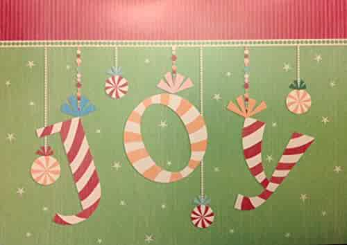 Shopping greeting cards art esolutions inc or sugarandboots 5 candy cane joy holiday cards 5 cards envelopes m4hsunfo