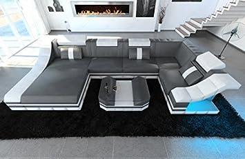 moderno Conjunto de Muebles Para Salón Turino forma de U con ...