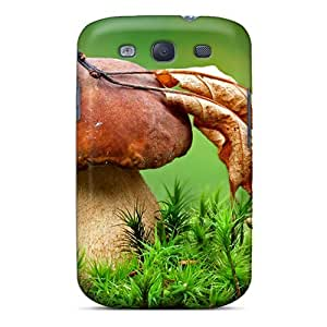 Quality Richardfashion2012 Cases Covers With Macro Fungus Nice Appearance Compatible With Galaxy S3 Black Friday