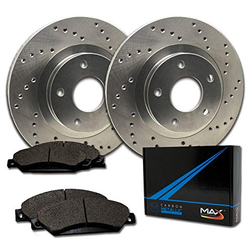 formance Brake Kit [ Premium Cross Drilled Rotors + Metallic Pads ] TA009721 | Fits: 2003 03 2004 04 VW Jetta Wagon GLS Turbo/GLS VR6 / GLX 288mm Dia Front Rotor ()