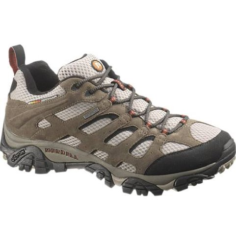 Merrell Men's Moab Waterproof Hiking Shoe,Bark Brown,10 M US Gore Tex Xcr Shoe