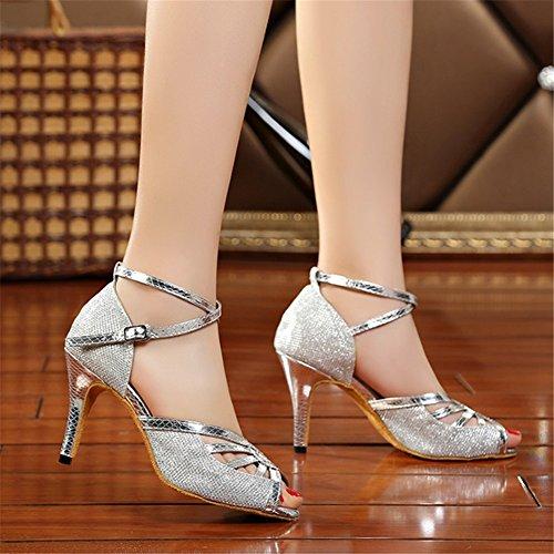 de para Zapatillas mujer M039Silver danza KeKe Shoes 0WvRnB06
