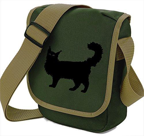 Pixie A Black Bag Cat Olive Borsa Donna Spalla S BHdvwdq