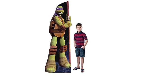 7 pies 2 pulgadas. TMNT Donatello Standee: Amazon.es: Hogar