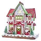 Christmas Decorations - LED Lighted Gingerbread House - Bake Shop