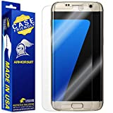 ArmorSuit [2 Pack] MilitaryShield [Case Friendly] Screen Protector for Samsung Galaxy S7 Edge - Anti-Bubble HD Clear Film