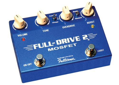 - Fulltone Fulldrive2 MOSFET Overdrive/Boost Pedal