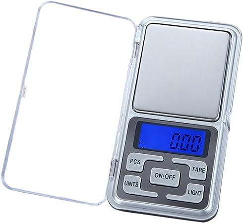 Balance de précision électronique Mini Pèse de Poche Scale Bijoux herbes or 500g
