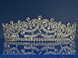 SC Bridal Wedding Tiara Crown 66158
