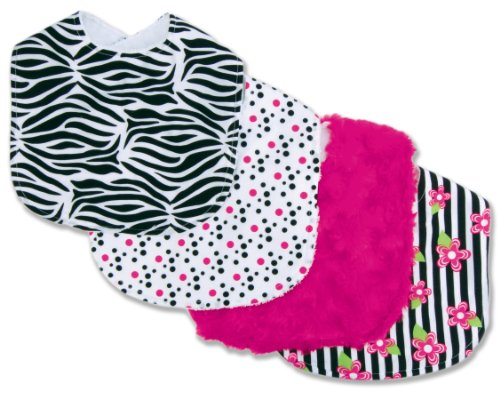 Trend Lab Set of 4 Bib, Zahara