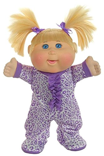 Cabbage Patch Kids Pajama Dance Party Blonde Leopard Baby