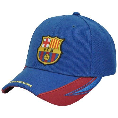 094df0031bf Rhinox FC Barcelona FCB Spain Velcro Gorra Curved Bill La Liga ...