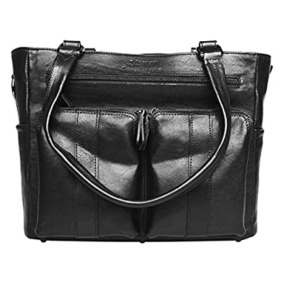 Image of 4 V Design Fede – Leather Tote Bag for Camera (Ultra-Grip, for Any Team Photo) Black Camera Cases