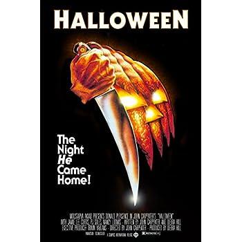 Amazon.com: HALLOWEEN (1978) Movie Poster 24x36: Posters & Prints